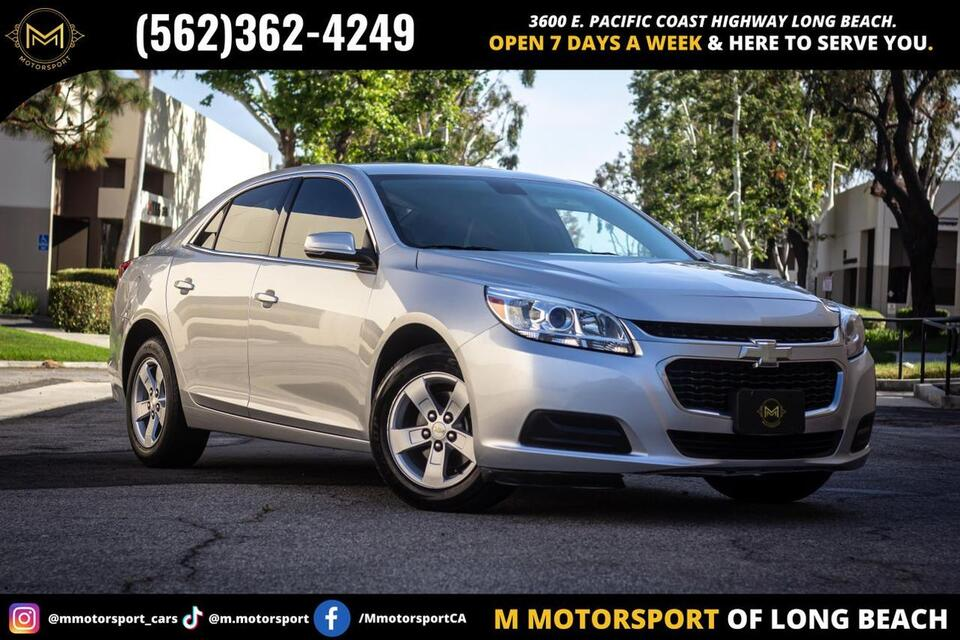 2016_Chevrolet_Malibu Limited_LT Sedan 4D_ Long Beach CA