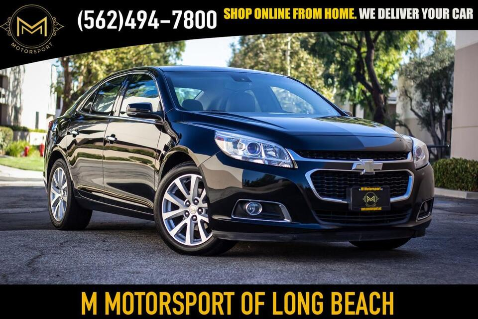 2016_Chevrolet_Malibu Limited_LTZ Sedan 4D_ Long Beach CA