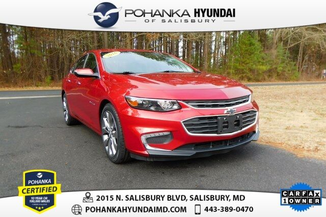 2016 Chevrolet Malibu Premier **ONE OWNER** Salisbury MD
