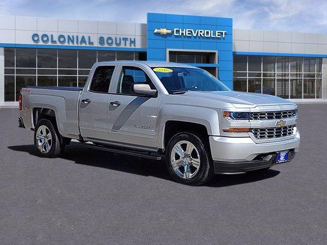2016 Chevrolet Silverado 1500 4WD Double Cab 143.5 Custom North Dartmouth MA
