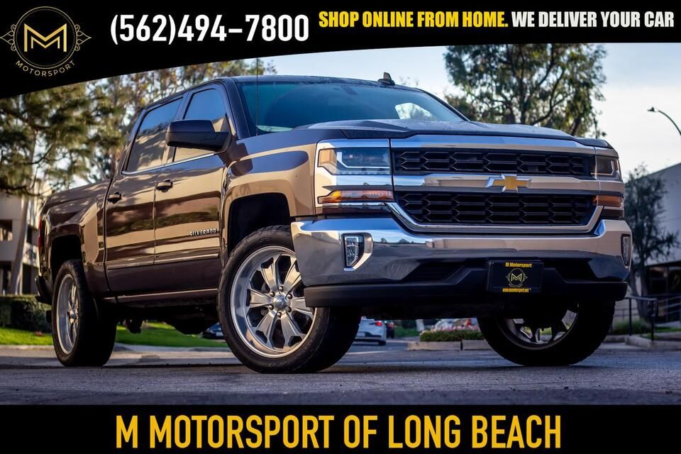 2016_Chevrolet_Silverado 1500 Crew Cab_LT Pickup 4D 6 1/2 ft_ Long Beach CA