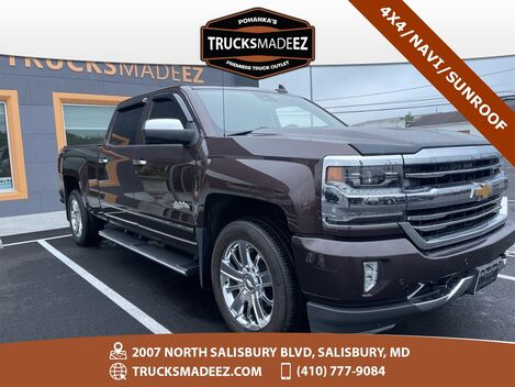 2016_Chevrolet_Silverado 1500_High Country 4X4 ** NAVIGATION & SUNROOF **_ Salisbury MD