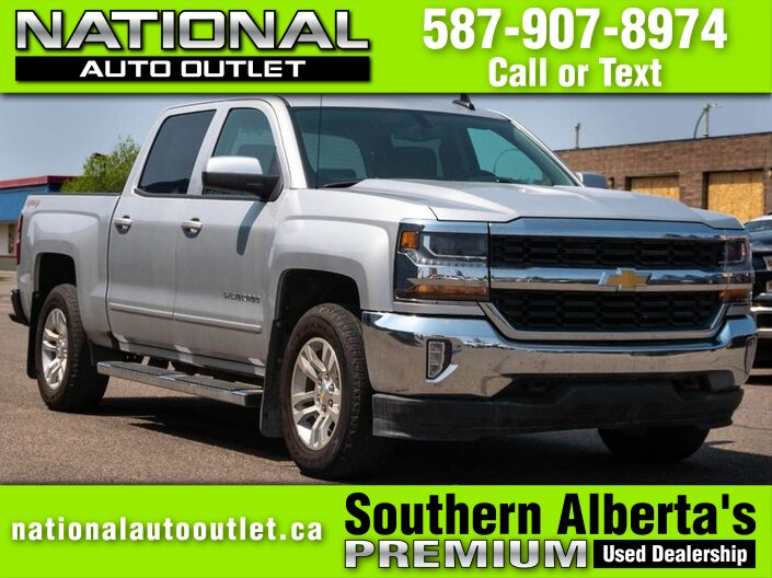 2016 Chevrolet Silverado 1500 LT - HEATED LEATHER - INTEGRATED TRAILER BRAKE Lethbridge AB