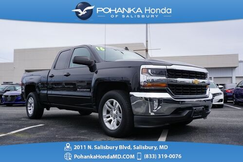 2016_Chevrolet_Silverado 1500_LT 4WD ** 4 Door Double Cab ** BEST MATCH ** LT1_ Salisbury MD