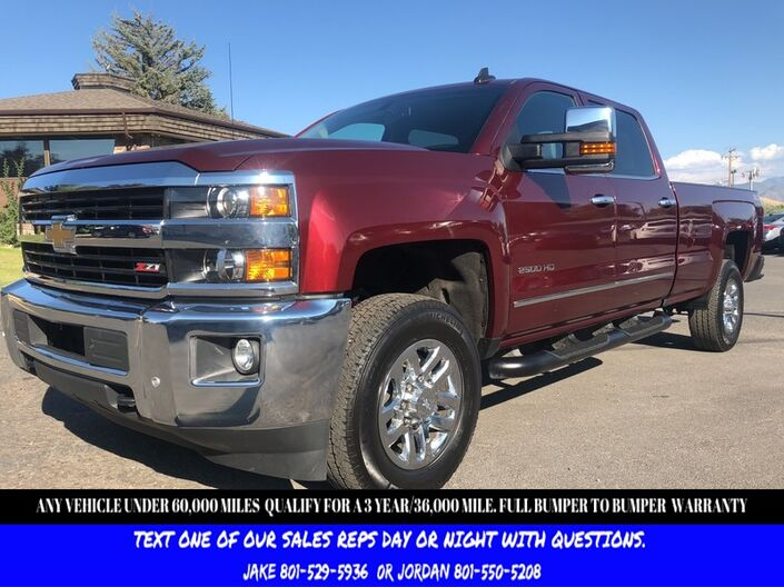 2016 Chevrolet Silverado 2500HD LTZ Z71 Salt Lake City UT