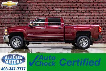 2016_Chevrolet_Silverado 3500HD_4x4 Crew Cab LTZ Leather BCam_ Red Deer AB