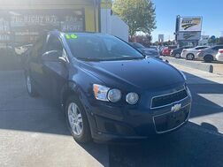 2016_Chevrolet_Sonic_4d Sedan LT AT_ Albuquerque NM