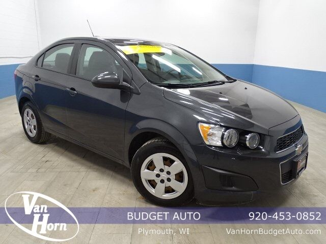 2016 Chevrolet Sonic LS Plymouth WI