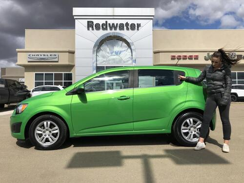 2016_Chevrolet_Sonic_LT - Only 41,617 kms_ Redwater AB
