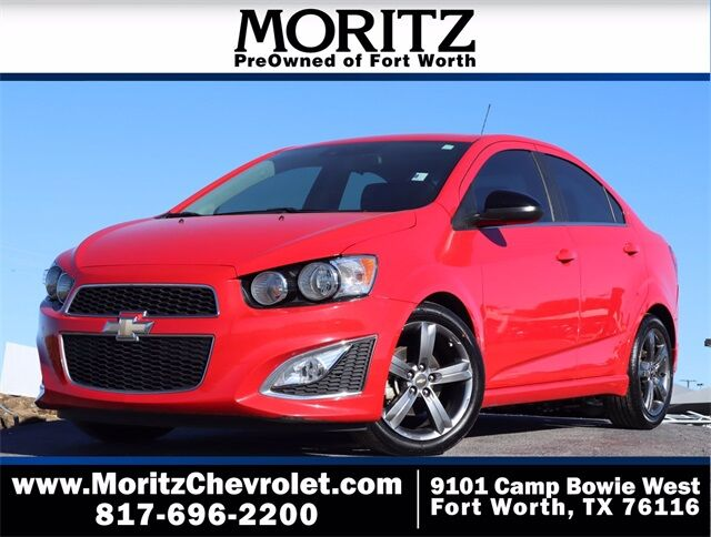 2016 Chevrolet Sonic RS Fort Worth TX