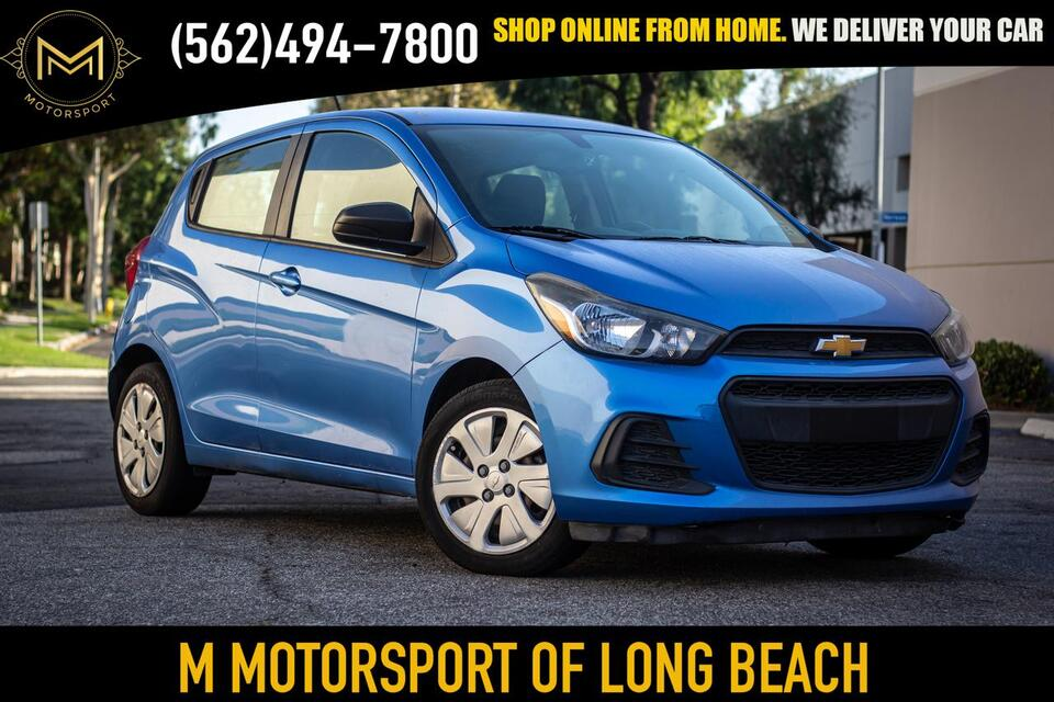 2016_Chevrolet_Spark_LS Hatchback 4D_ Long Beach CA