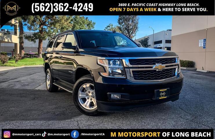 2016 Chevrolet Tahoe LT Sport Utility 4D Long Beach CA