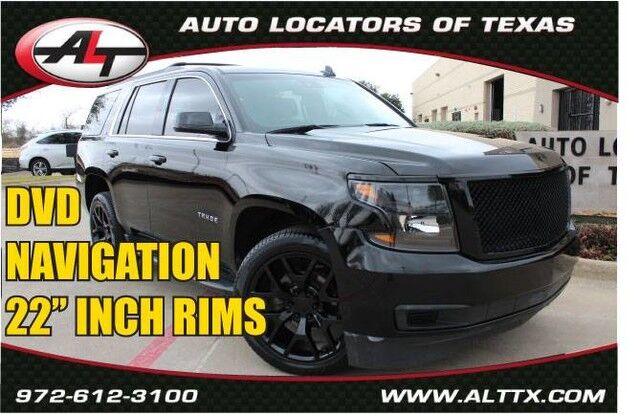 2016 Chevrolet Tahoe LT with 22 INCH RIMS Plano TX