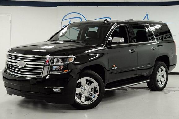 2016_Chevrolet_Tahoe_LTZ 4WD Captain Seating Carfax Certified One Owner_ The Colony TX