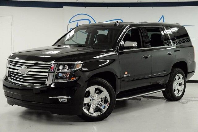 2016 Chevrolet Tahoe LTZ 4WD Captain Seating Carfax Certified One Owner The Colony TX