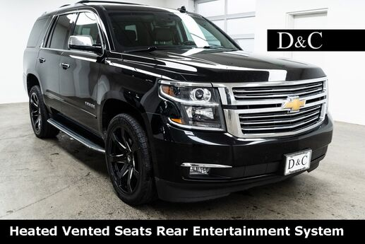 2016 Chevrolet Tahoe LTZ Heated Vented Seats Rear Entertainment System Portland OR