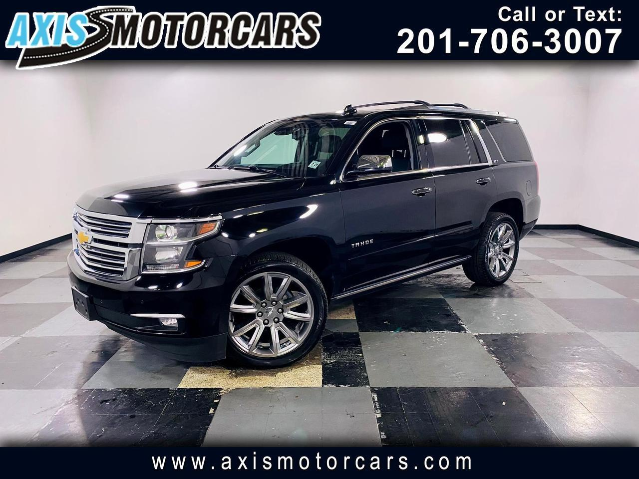 2016 Chevrolet Tahoe LTZ w/Backup Camera Rear Entertainment Navigation Jersey City NJ