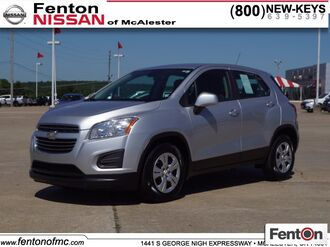 2016_Chevrolet_Trax_LS_ McAlester OK