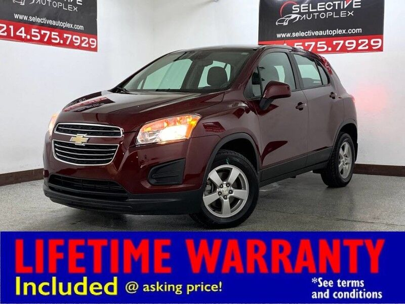 2016 Chevrolet Trax LS RWD, REAR VIEW CAM, BLUETOOTH Carrollton TX