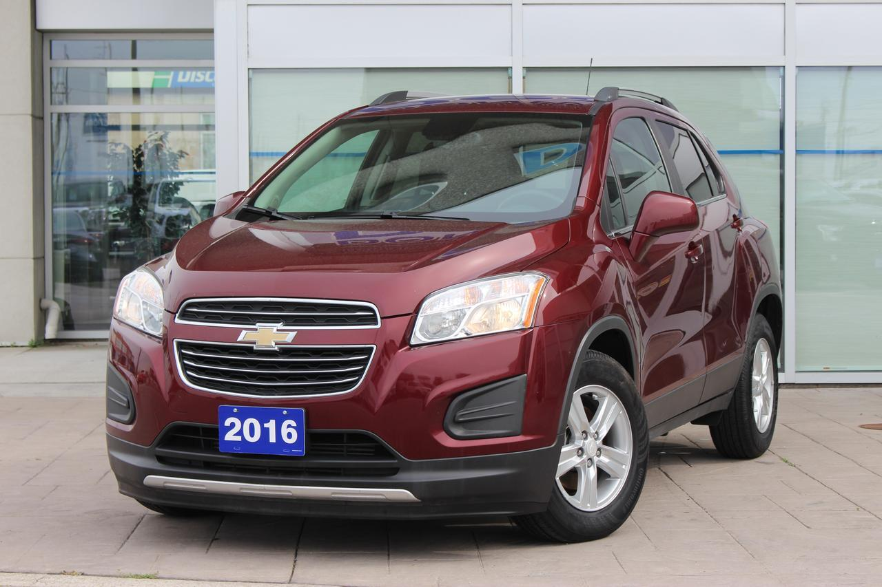 2016 Chevrolet Trax LT   ONE OWNER   NO REPORTED ACCIDENT Scarborough ON