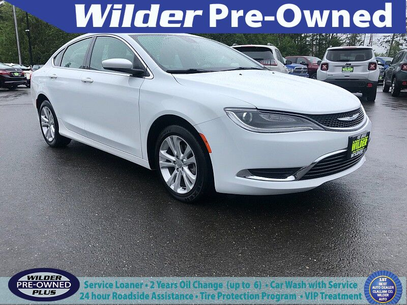 2016 Chrysler 200 4d Sedan Limited I4 Port Angeles WA