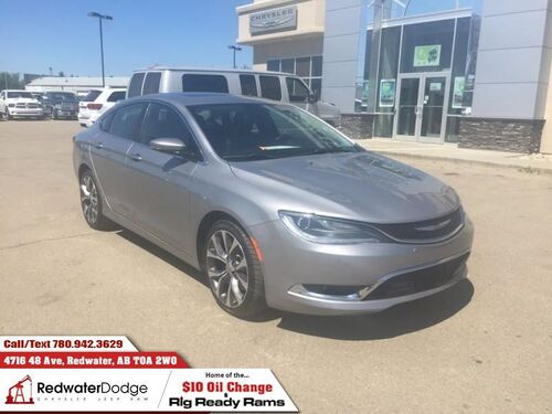 2016_Chrysler_200_C   - Sunroof - UConnect - $134.21 B/W_ Redwater AB