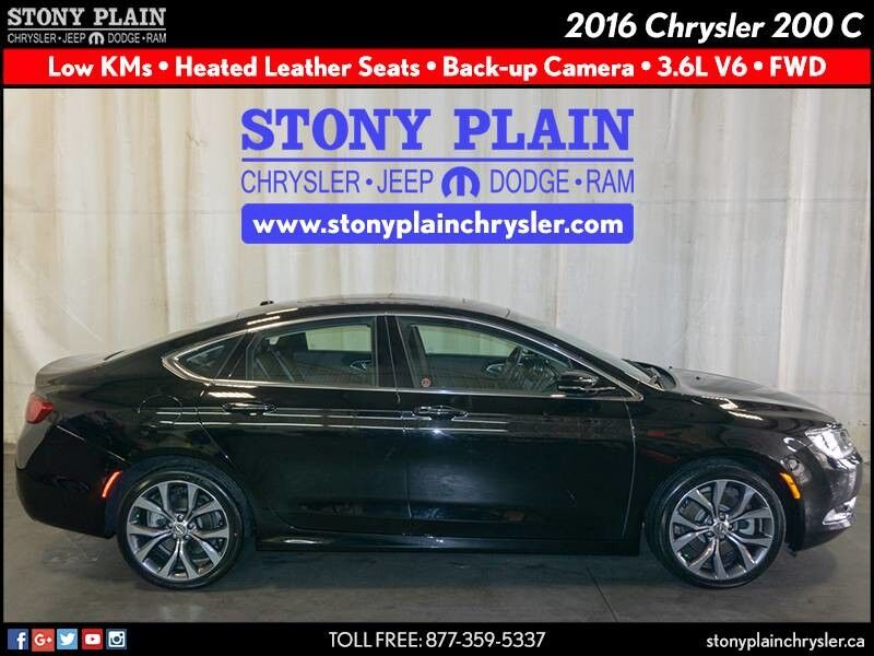 2016 Chrysler 200 C Stony Plain AB
