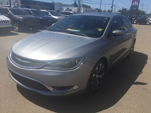 2016_Chrysler_200_C V6 Leather NAV Sunroof_ Redwater AB