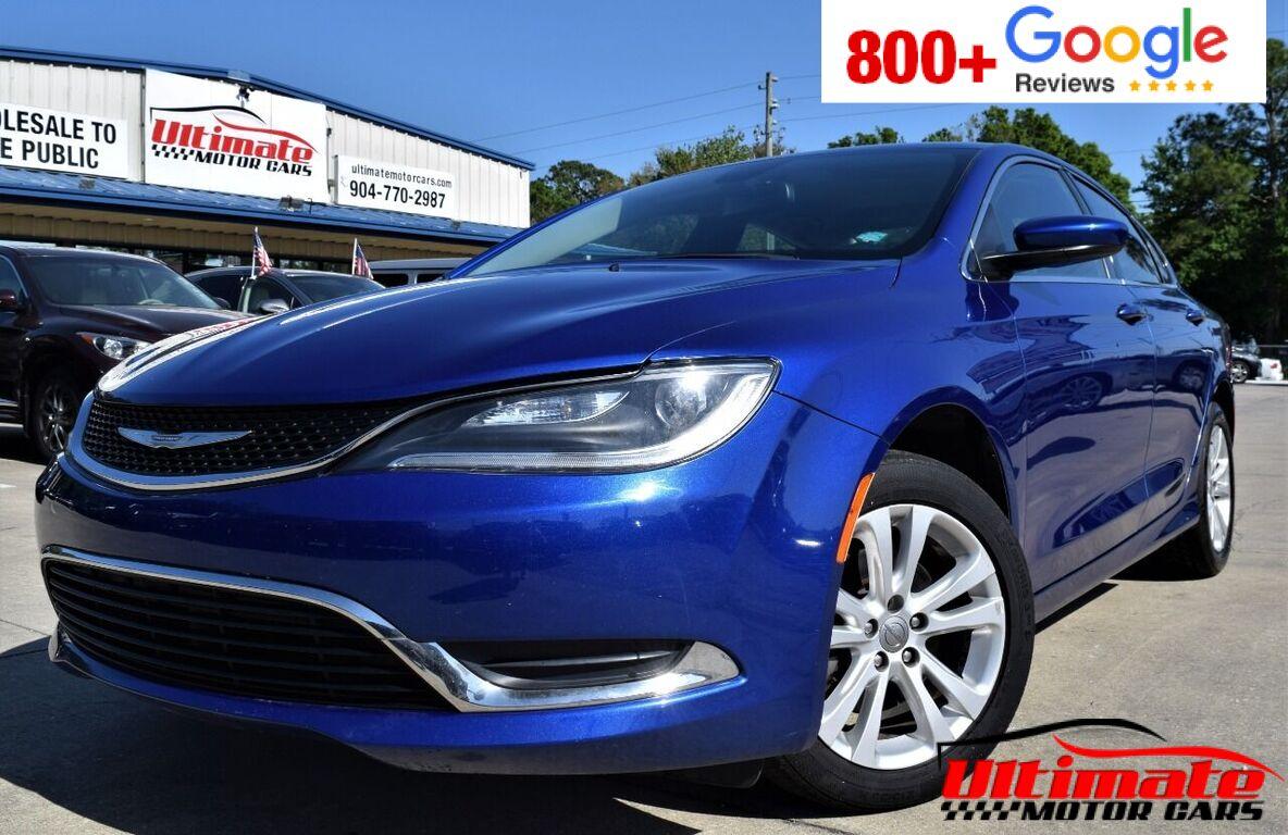 2016 Chrysler 200 Limited 4dr Sedan Saint Augustine FL