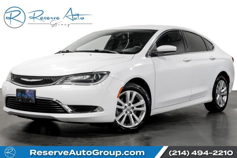 2016 Chrysler 200 Limited BackUp Cam Bluetooth Remote Start The Colony TX
