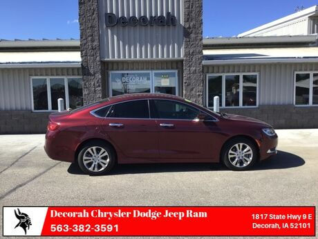 2016 Chrysler 200 Limited Decorah IA