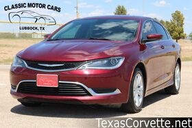 2016_Chrysler_200_Limited_ Lubbock TX