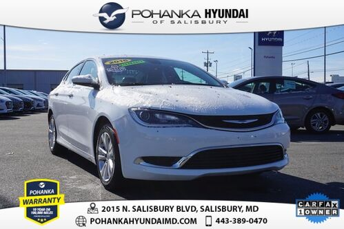2016_Chrysler_200_Limited **ONE OWNER**_ Salisbury MD
