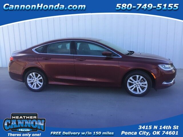 2016 Chrysler 200 Limited Ponca City OK
