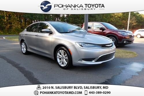 2016_Chrysler_200_Limited_ Salisbury MD