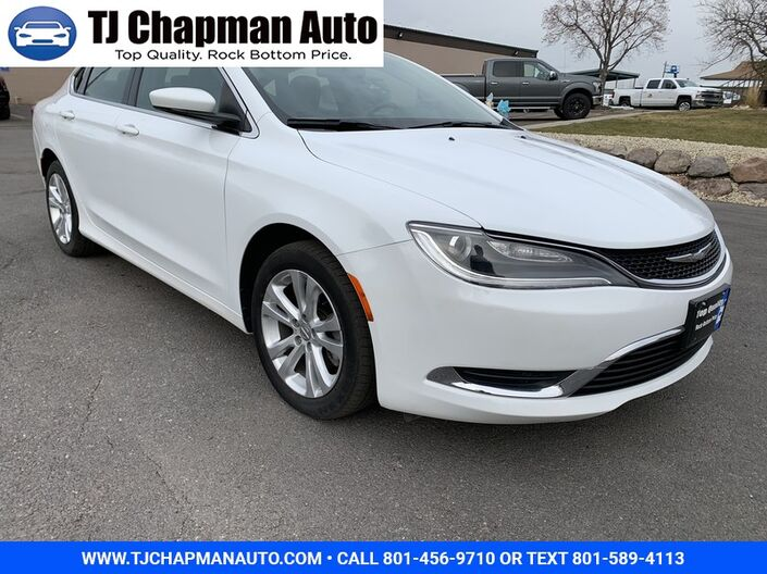 2016 Chrysler 200 Limited Salt Lake City UT