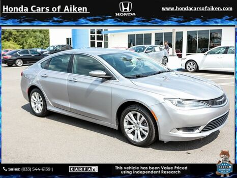 2016_Chrysler_200_Limited_ Aiken SC