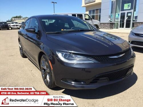 2016_Chrysler_200_S  - Heated Seats -  Bluetooth - $140.04 B/W_ Redwater AB