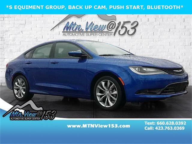 2016 Chrysler 200 S Chattanooga TN