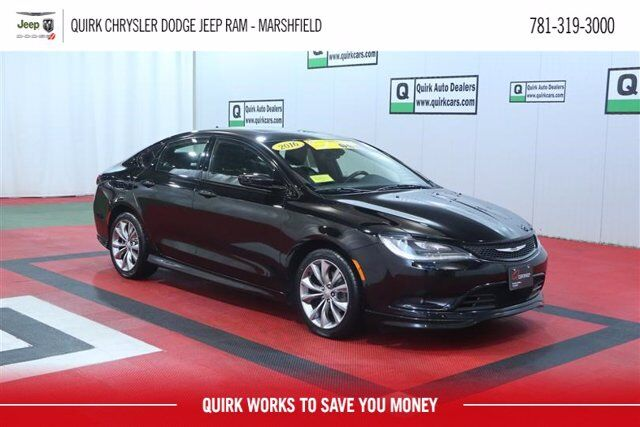 2016 Chrysler 200 S Marshfield MA