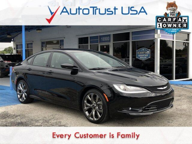 2016 Chrysler 200 S Miami FL