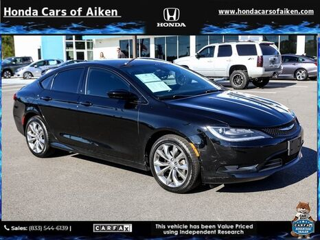 2016_Chrysler_200_S_ Aiken SC