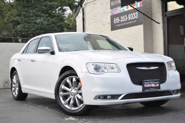 2016 Chrysler 300 300C/AWD/Driver Convenience Group w/ Navigation, Keyless-Go, Remote Start/Backup Camera/Nappa Heated & Ventilated Front Seats/Panoramic Roof/Alpine Audio w/ Streaming Bluetooth Nashville TN