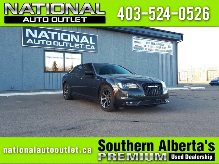 2016 Chrysler 300 300S - HEATED LEATHER SEATS, NAVIGATION, SUNROOF Lethbridge AB