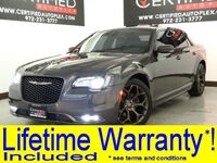 Chrysler 300S ALLOY EDITION 3.6L V6 BLIND SPOT MONITOR NAVIGATION PANORAMA LEATHER 2016