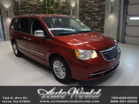 2016 Chrysler TOWN & COUNTRY LIMITED  Hays KS