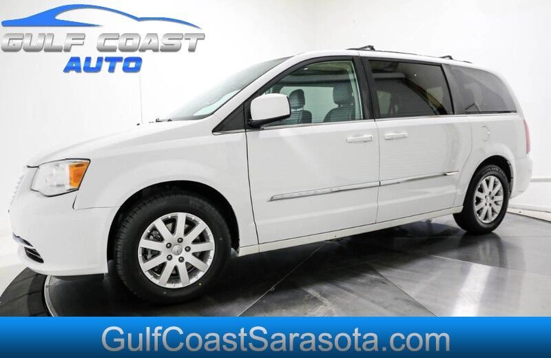 2016 Chrysler TOWN & COUNTRY TOURING LEATHER DVD ALL POWER LIKE NEW 1 OWNER Sarasota FL