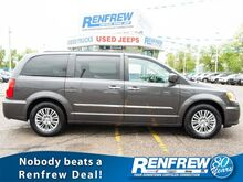 2016_Chrysler_Town & Country_Touring-L, Sunroof, Nav, Rear DVD, Remote Start, Heated Leather Seats, Bluetooth, SiriusXM, Backup Camera_ Calgary AB