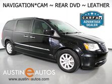 Chrysler Town & Country Touring *NAVIGATION, REAR DVD, LEATHER, 2ND ROW BUCKET SEATS, TOUCH SCREEN, HEATED SEATS, POWER LIFTGATE, BLUETOOTH AUDIO 2016