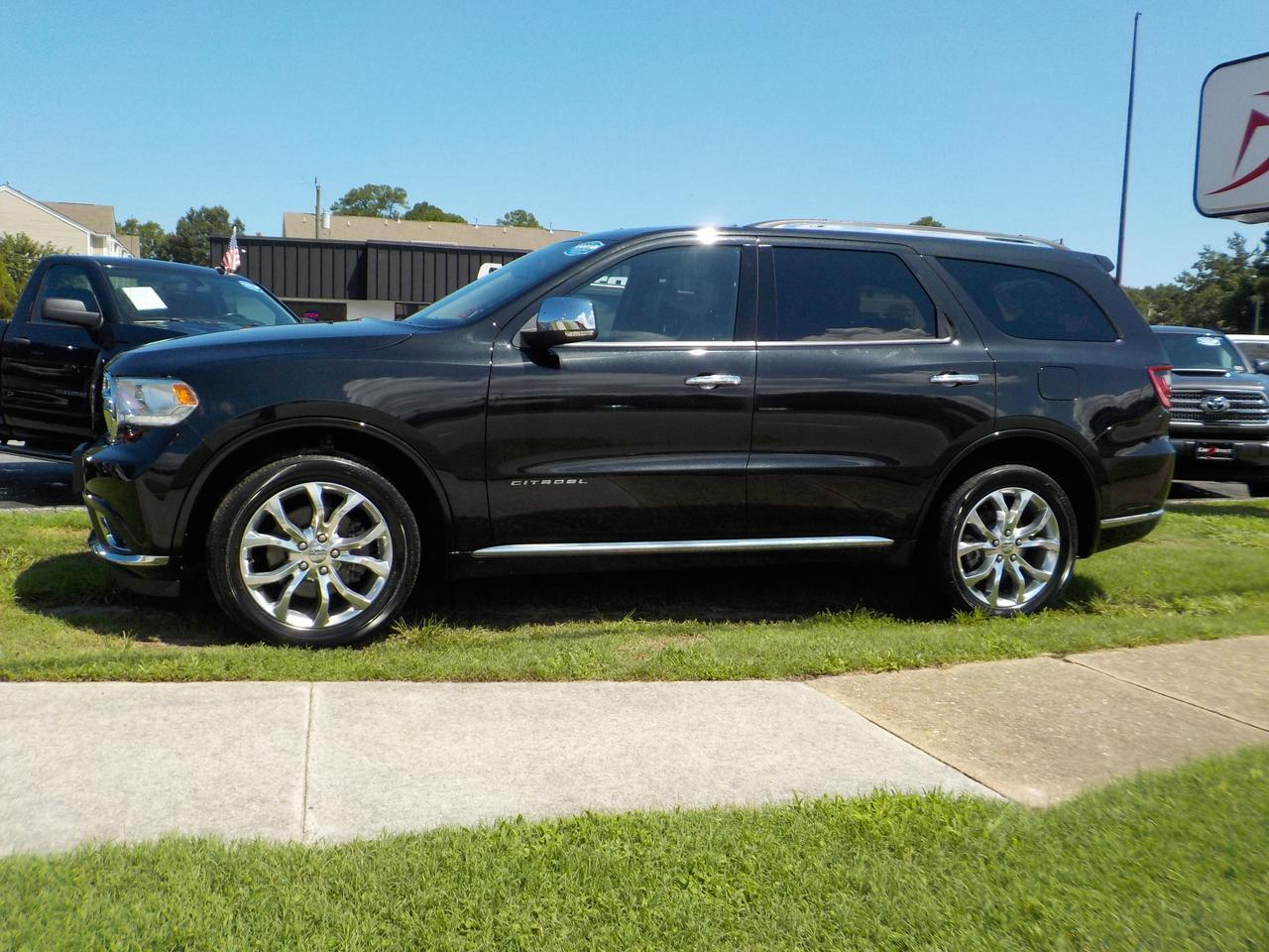 2016 DODGE DURANGO CITADEL AWD, NAVIGATION, BLU-RAY DVD SYSTEM, BACKUP CAM, HEATED AND COOLED LEATHER, EVERY OPTION!!! Virginia Beach VA
